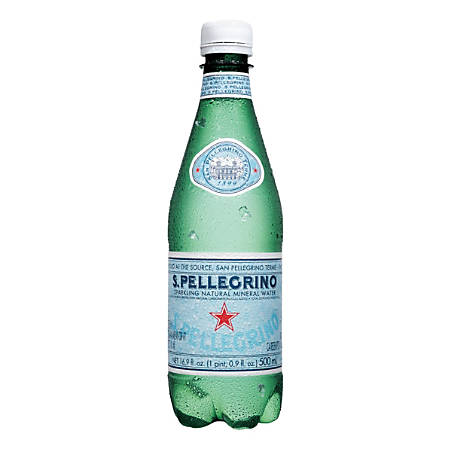 San Pellegrino® Sparkling Natural Mineral Water, 16.9 oz, Pack Of 24