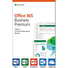 Microsoft Office 365 Business Premium 1