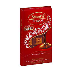 Lindor Chocolate Truffle Bars Milk Chocolate