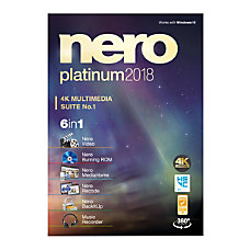 Nero Platinum 2018 Traditional Disc