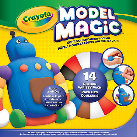 Crayola® Model Magic® Variety Pack, Assorted Colors, Pack Of 14