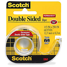 Scotch Double Sided Tape With Handheld