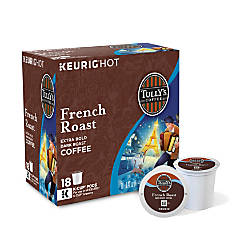 Tullys Coffee French Roast Coffee K