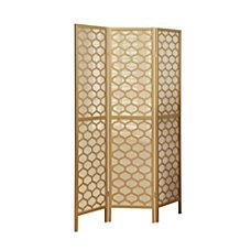 Monarch Specialties Gael 3 Panel Folding