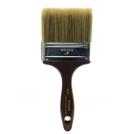 "Linzer Polyester Utility Paint Brush, 4"", Synthetic"