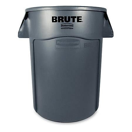 Rubbermaid® Brute® 44-Gallon Waste Container, Gray