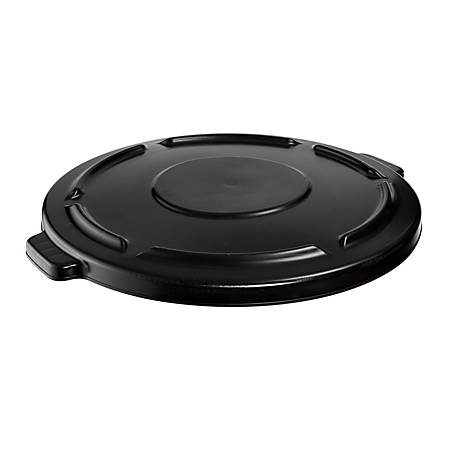 Rubbermaid® 44-Gallon Waste Container Lid, Black