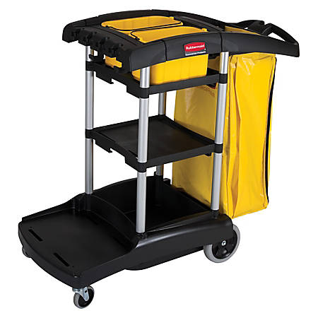 Rubbermaid® High-Capacity Cleaning Cart