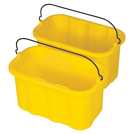 Rubbermaid® Sanitizing Caddy, 10 Quarts, Yellow