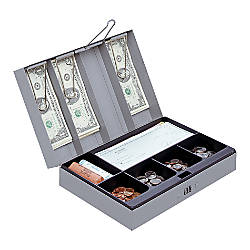 Sparco Steel Combination Lock Cash Box