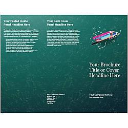 Customizable Trifold Brochure Creative Rocket