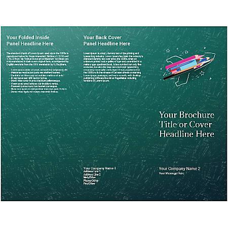 Customizable Trifold Brochure, Creative Rocket