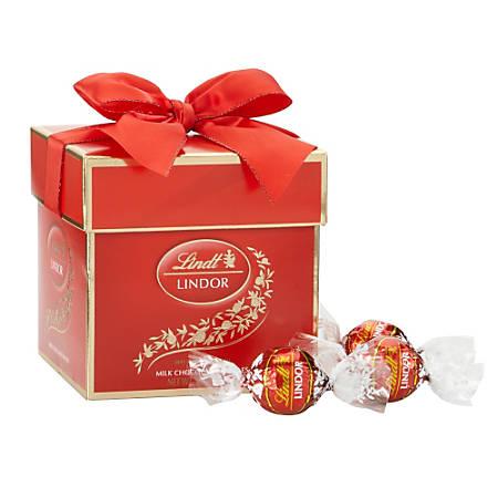 Lindt Lindor Truffles, Milk Chocolate, 4.9 Oz Gift Box