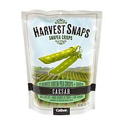 Harvest Snaps Snapea Crisps Caesar 33