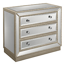 Coast to Coast Mirrored 3 Drawer