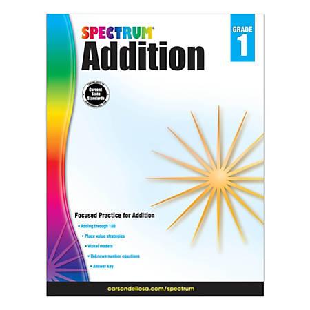 Spectrum® Addition Workbook, Grade 1