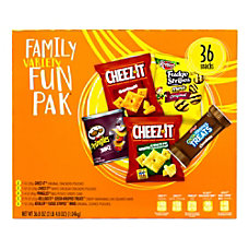 Kelloggs Family Snack Variety Fun Pack