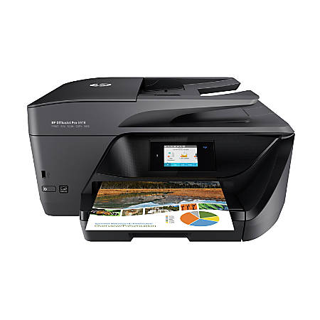 HP OfficeJet Pro 6978 All-in-One Wireless Printer With Mobile Printing (T0F29A)