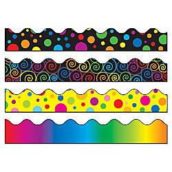 Carson Dellosa Scalloped Borders Multicolor Grades