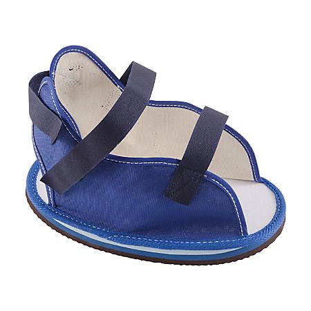 DMI® Post-Op Cast Shoe, Men's Large, 11 - 13, Blue