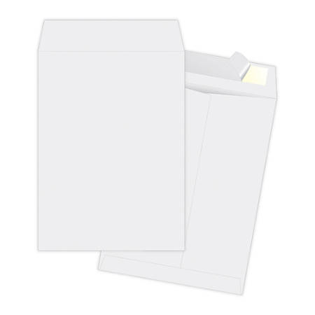 "Quality Park® Ship-Lite Catalog Envelopes, 10"" x 13"", White, Box Of 100"