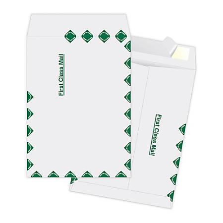 "Quality Park® Ship-Lite Catalog Envelopes, First Class, 10"" x 13"", White, Box Of 100"