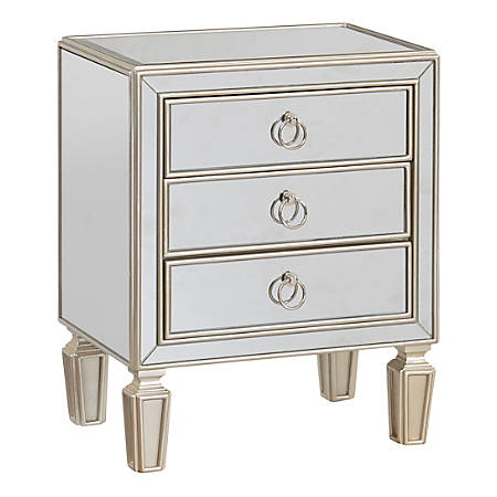 quality design 805e6 bd1ec Coast to Coast 3-Drawer Chest With Metal Hardware, 28