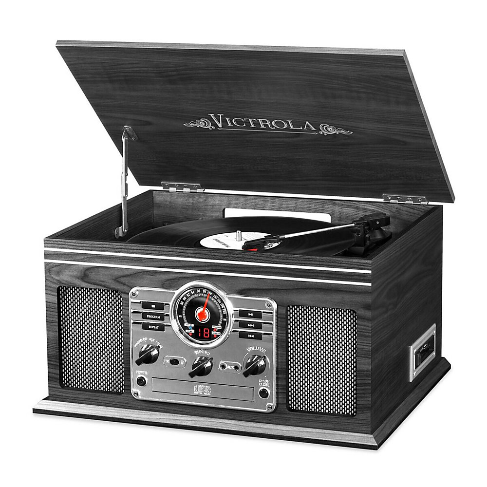 Innovative Technology Victrola Bluetooth 6-In-1 Turntable