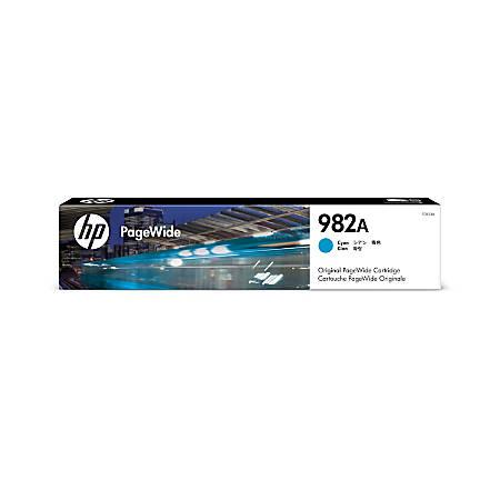 HP 982 Cyan Original PageWide Ink Cartridge (T0B23A)
