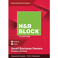 H R Block Premium Business 2018
