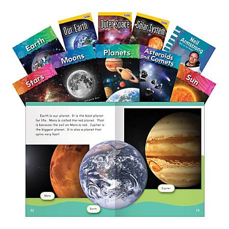 Teacher Created Materials Space Exploration Book Set, Grades 1 - 2, Set Of 10 Books