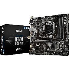 MSI B360M PRO VDH Desktop Motherboard