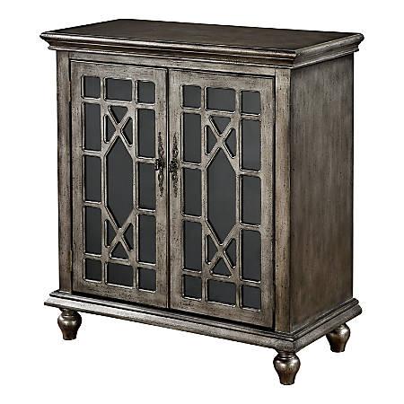 Coast to Coast 2-Door Cabinet, Metallic