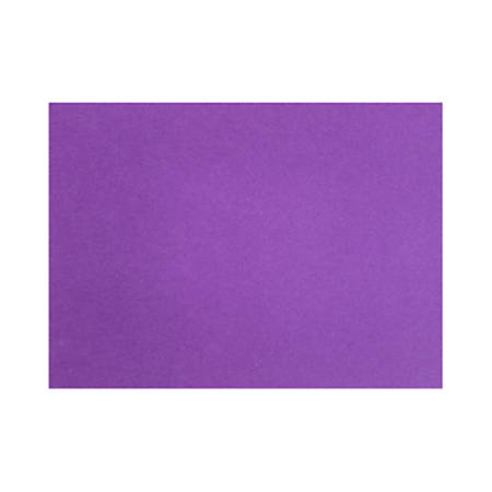 "LUX Flat Cards, A6, 4 5/8"" x 6 1/4"", Purple Power, Pack Of 50"