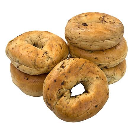National Brand Fresh Cinnamon Raisin Bagels, Pack Of 6