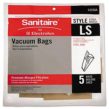 Sanitaire Eureka LS Commercial Upright Vacuum Cleaner Bags, Brown, Pack Of 5 Bags