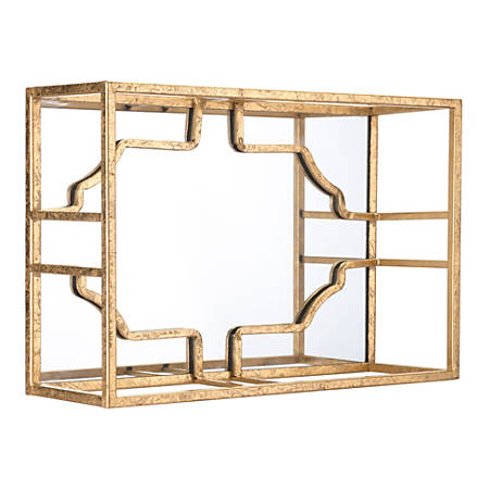 Zuo Modern Cube Wall Décor, Small, Gold