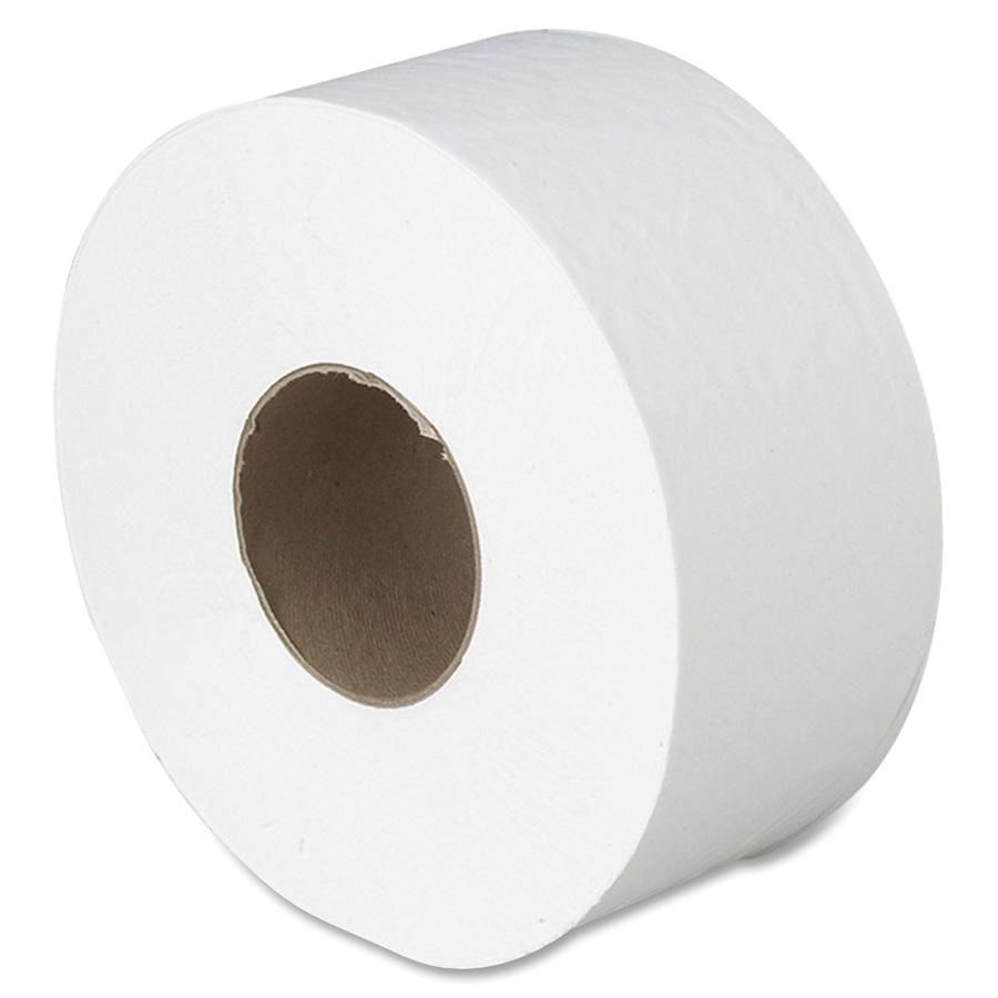 Georgia Pacific Jumbo Jr 2 Ply Bathroom Tissue 1000 Roll Case Of 8