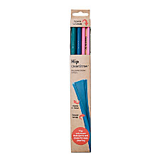 Hip SqueakyCleanStraws 8 1116 Assorted Colors