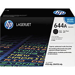 HP 644A Black Original Toner Cartridge