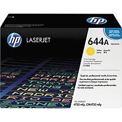 HP 644A Yellow Original Toner Cartridge