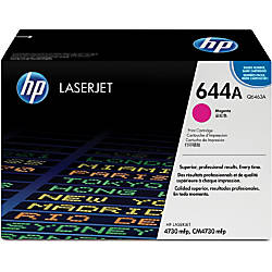 HP 644A Magenta Original Toner Cartridge