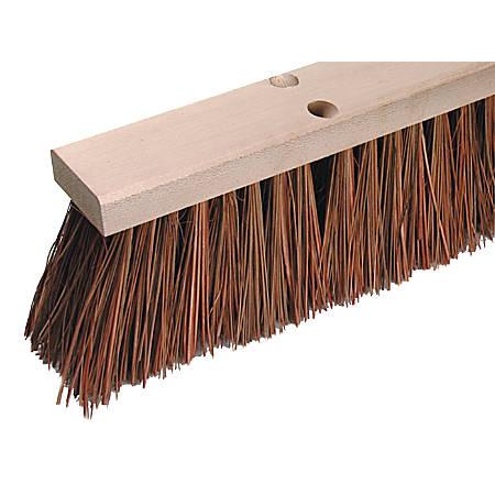 """Wilen Palmyra Stalks Street Sweep Broom, 16"""", Pack Of 6"""