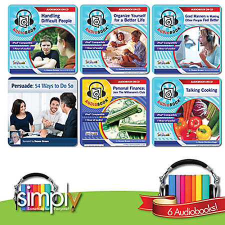 Life Skills Audiobooks: 6 Title Collection, Download Version
