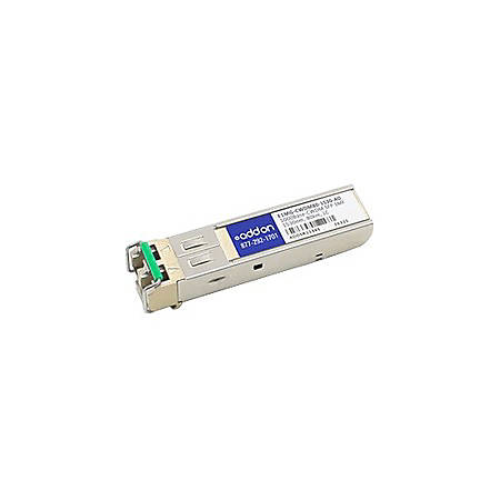 AddOn Brocade E1MG-CWDM80-1530 Compatible TAA Compliant 1000Base-CWDM SFP Transceiver (SMF, 1530nm, 80km, LC) - 100% compatible and guaranteed to work