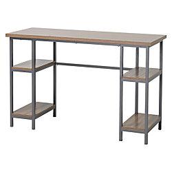 Homestar North America 4-Shelf Laptop Desk, FSC® Certified, Natural