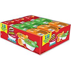 Pringles Variety Pack Box Of 18
