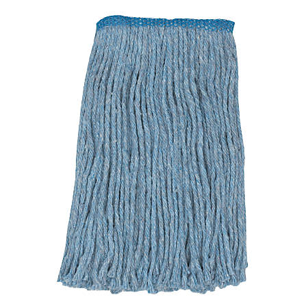 Wilen Go Go Blend Cut-End Mopheads, Blue, Pack Of 12
