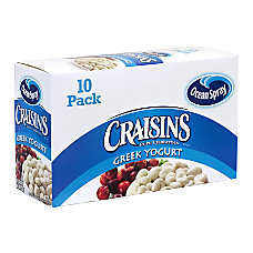 Ocean Spray Craisins Greek Yogurt Covered