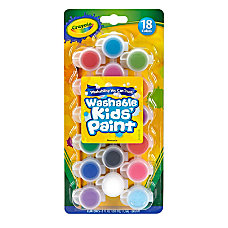 Crayola Washable Kids Paint Pots